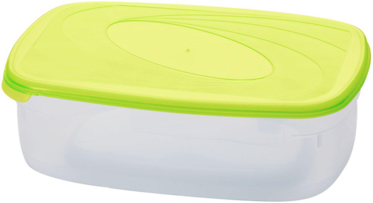 Емкость для СВЧ Plastic Centre Galaxy, цвет: светло-зеленый, прозрачный, 750 мл емкость для хранения plastic centre сфера цвет светло зеленый прозрачный 2 л