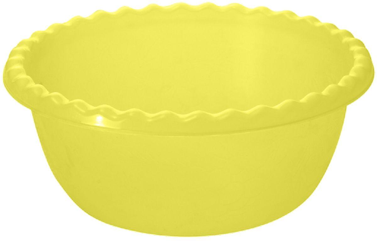 """Салатник Plastic Centre """"Фазенда"""", цвет: желтый, 3 л"""