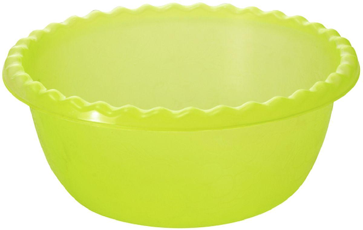 """Миска Plastic Centre """"Фазенда"""", цвет: светло-зеленый, 3 л"""