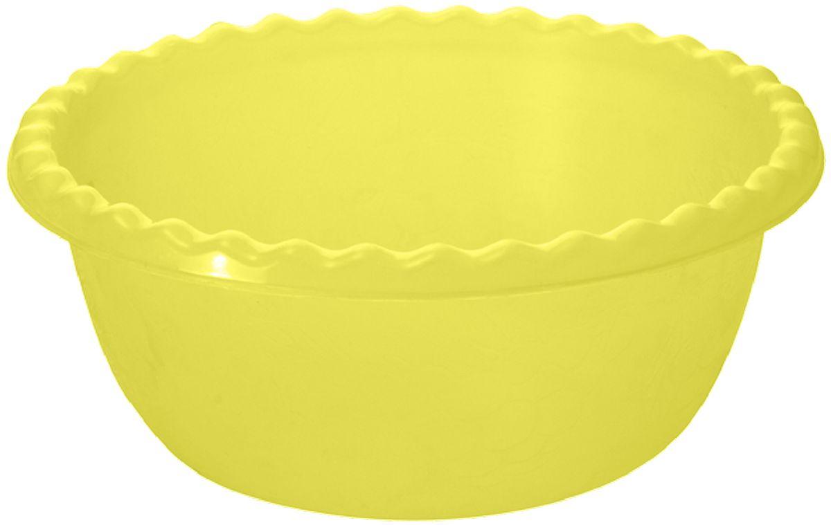 """Салатник Plastic Centre """"Фазенда"""", цвет: желтый, 1,5 л"""
