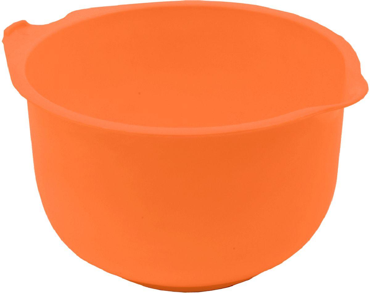 """Миска мерная """"Plastic Centre"""", цвет: оранжевый, 3 л"""