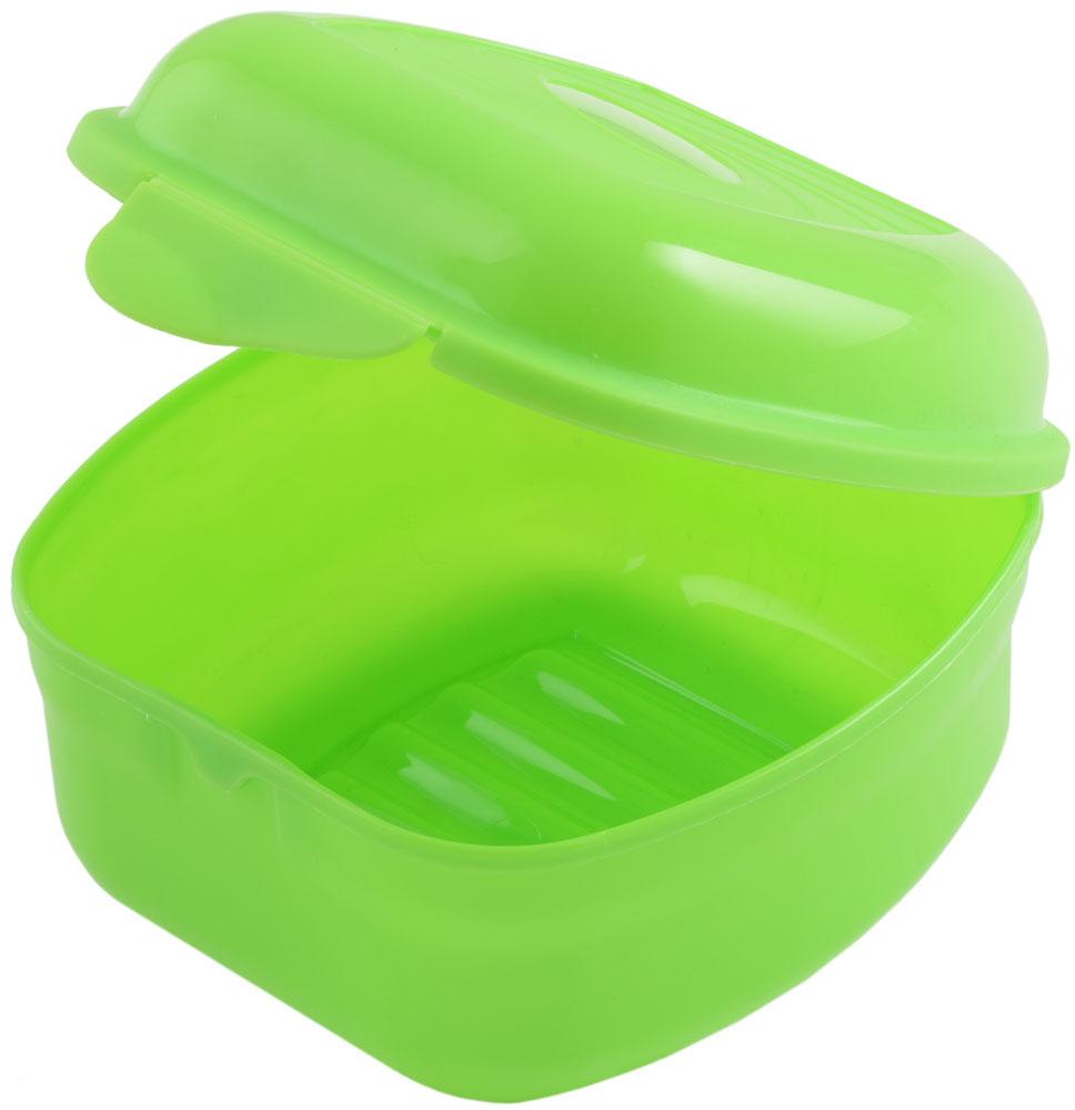Ланч-бокс Plastic Centre Galaxy, цвет: светло-зеленый, 900 мл ланч бокс доляна завтрак квадратный 700 мл