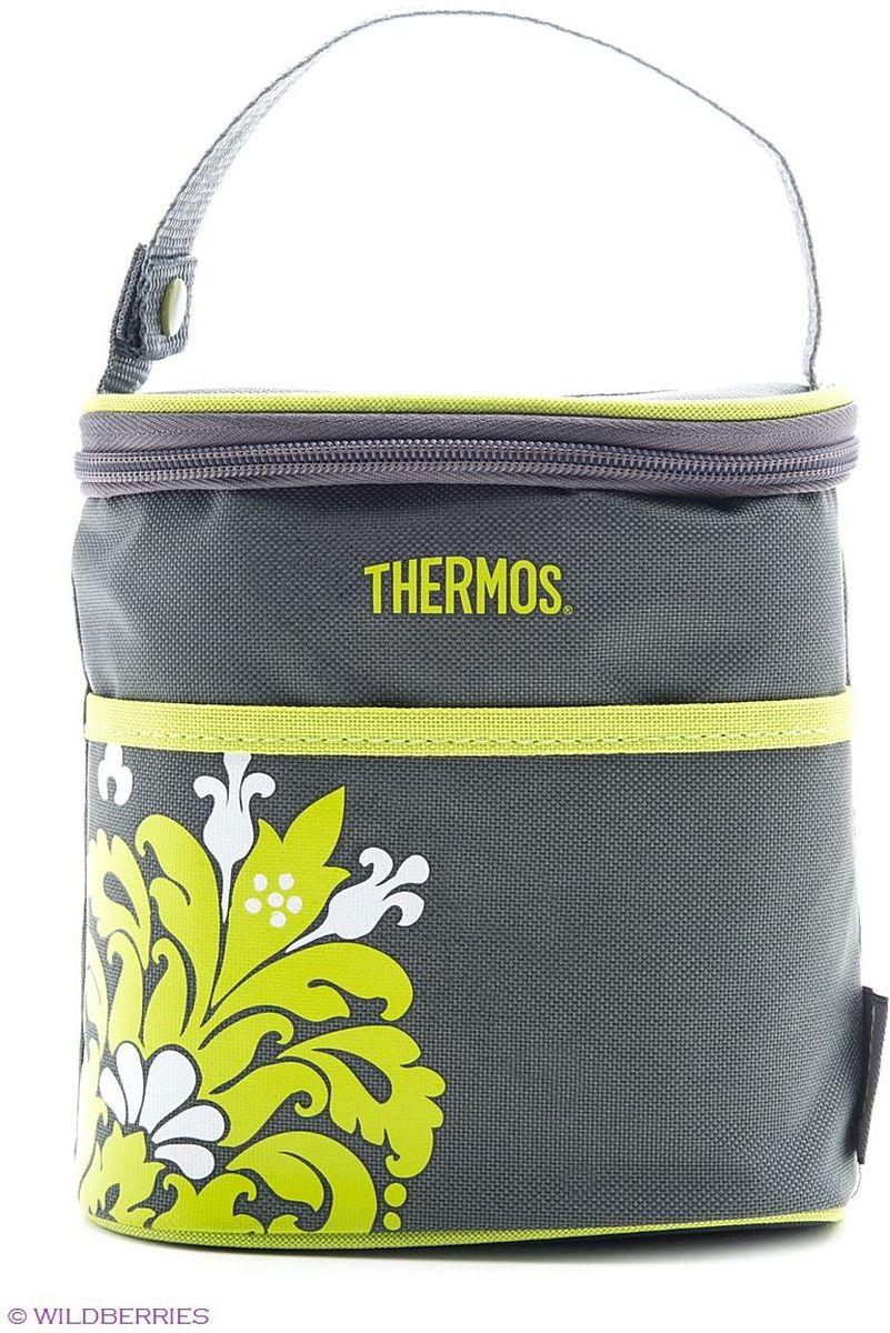 Термосумка Thermos Bottle Holder, на 2 бутылки, цвет: серый, 0,6 л