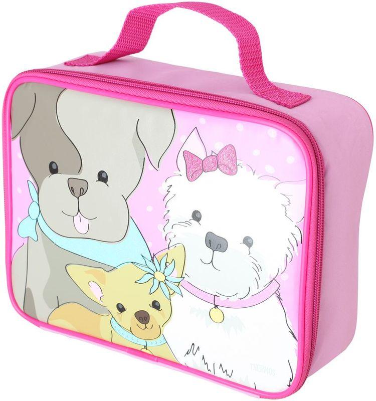 Термосумка детская Thermos Puppy Days Soft Kit , цвет: розовый, 6 л