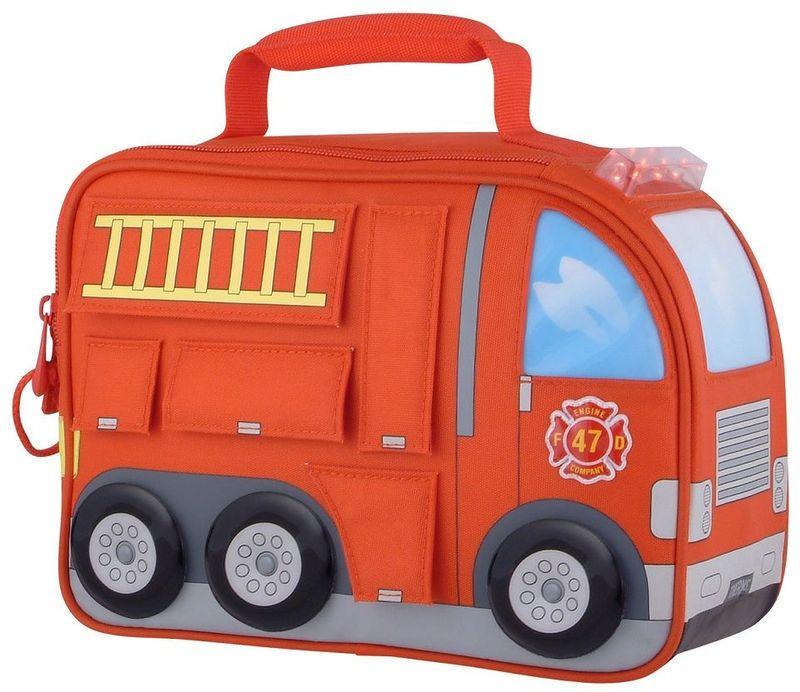 Термосумка детская Thermos Firetruck Novelty Kit, цвет: красный, 5 л