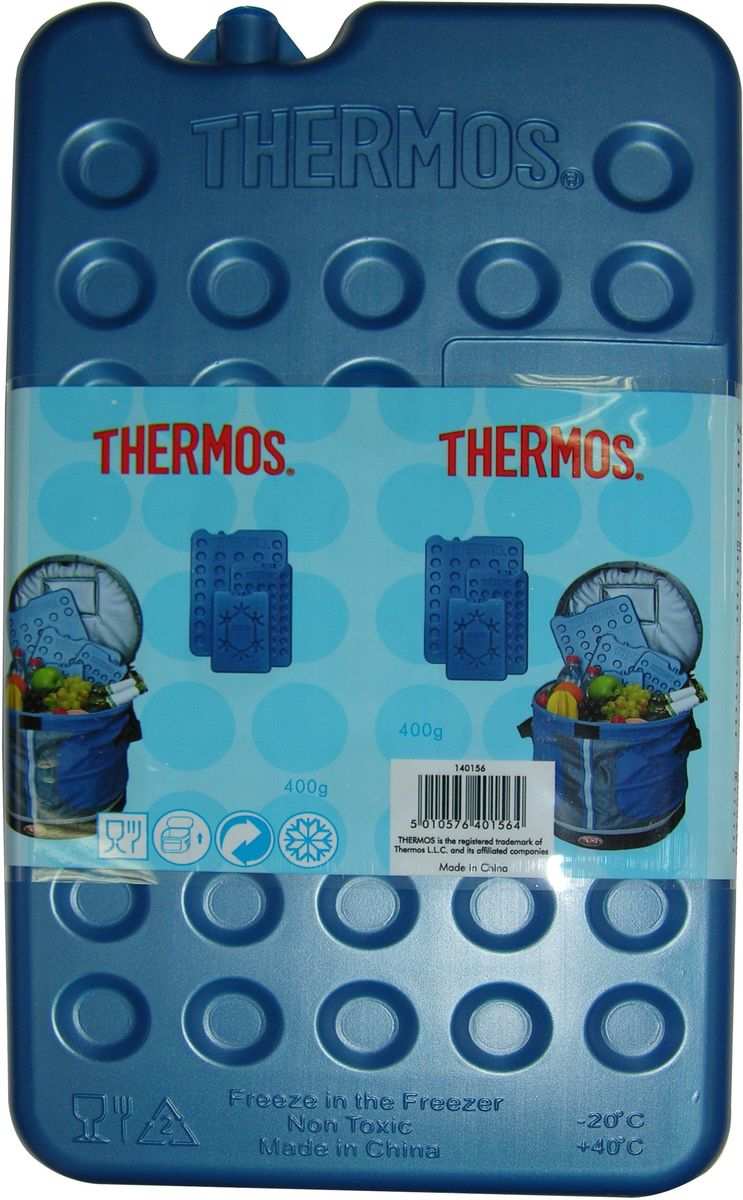 Аккумулятор холода Thermos Freezing Board, цвет: синий, 1 шт, 400 г аккумулятор холода natura slim цвет белый 400 мл