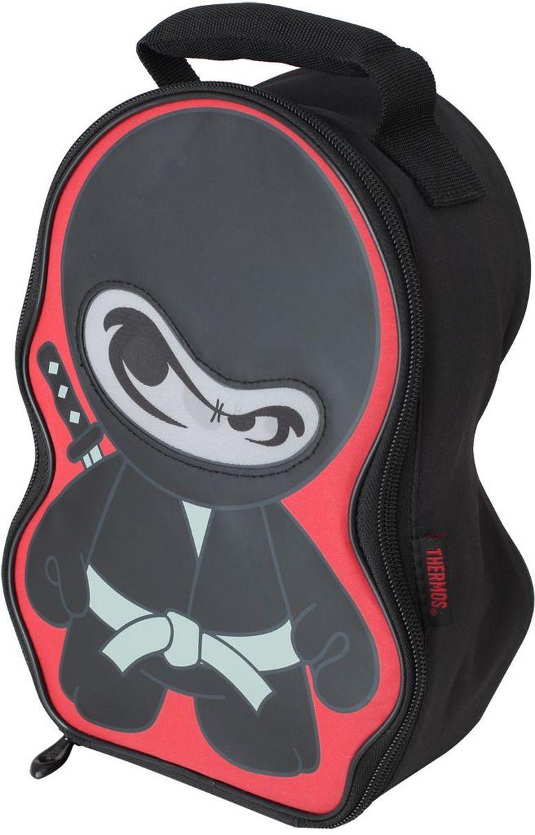 Термосумка детская Thermos Ninja Novelty Lenticular, цвет: черный, 5 л thermos 5 л brown