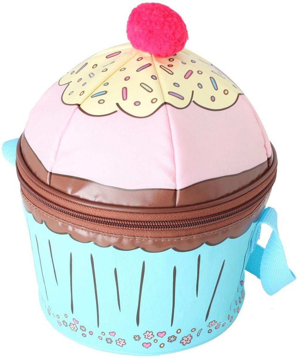Термосумка детская Thermos Cupcakes Novelty, цвет: голубой, розовый, 5 л