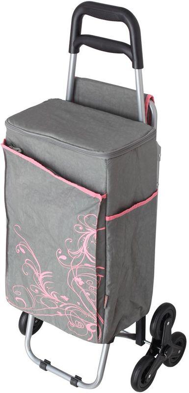 Термосумка Thermos Wheeled Shopping Trolley, цвет: серый, 28 л