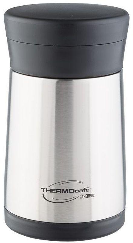 Термос Thermocafe By Thermos, цвет: стальной, 0,5 л. XC05-BK термос thermos thermocafe jf 50 0 5л салатовый 271501
