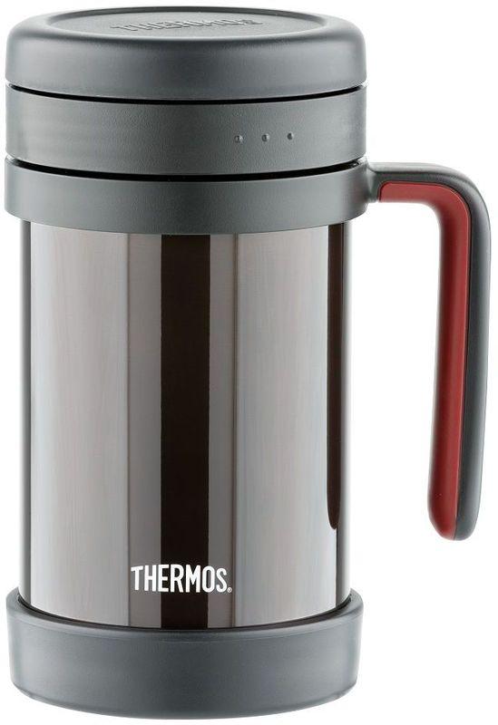 Термос для заваривания Thermos, цвет: черный, 0,5 л. TCMF-501 термокружка 0 5 л thermos jmk 501 dl 417251