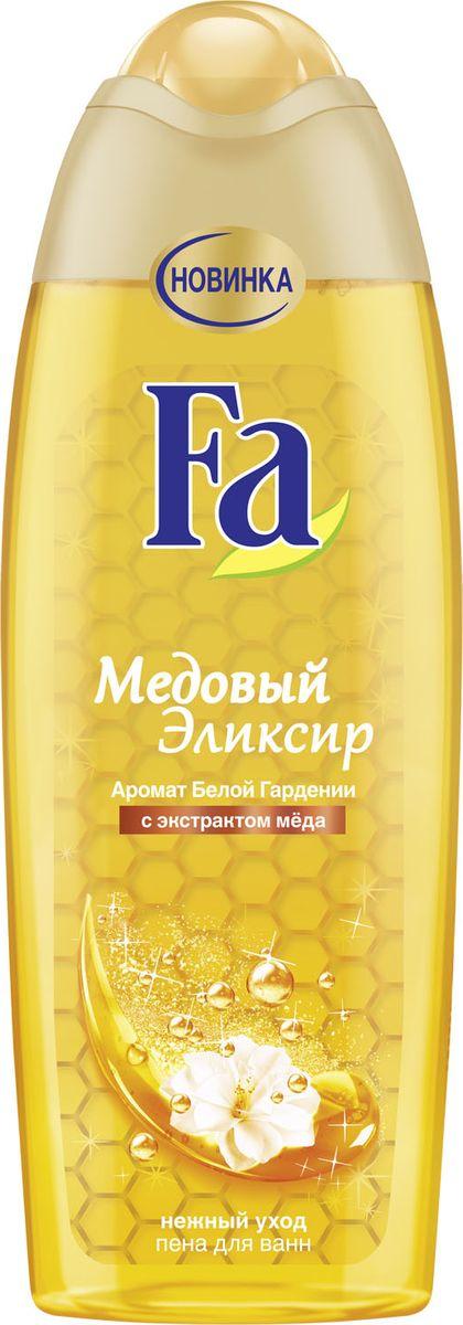 Fa Крем-пена для ванн Медовый Эликсир 500 мл гель д душа fa медовый эликсир аромат белой гардении 250мл