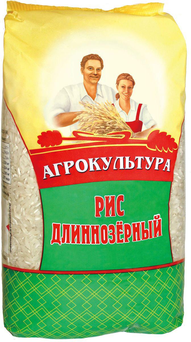 Агрокультура рис длиннозерный, 800 г цена