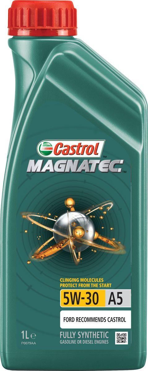 """Масло моторное """"Castrol Magnatec"""", синтетическое, класс вязкости 5W-30, A5, 1 л"""