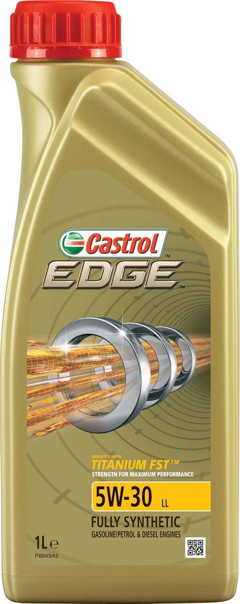 """Масло моторное Castrol """"Edge"""", синтетическое, класс вязкости 5W-30, LL, 1 л"""