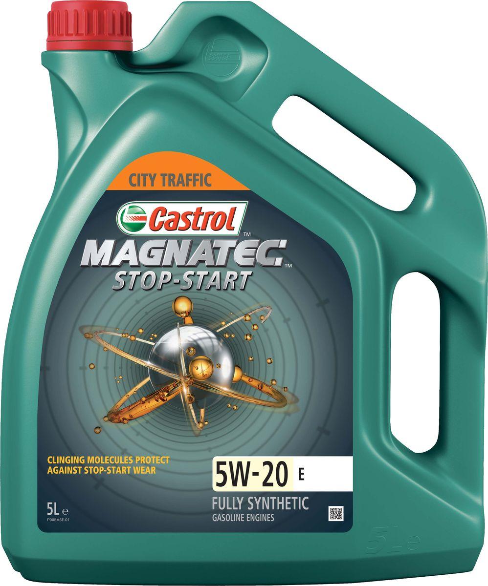 """Масло моторное Castrol """"Magnatec Stop-Start E"""", синтетическое, класс вязкости 5W-20, 5 л"""
