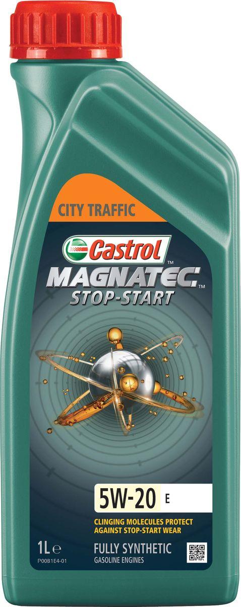 """Масло моторное Castrol """"Magnatec Stop-Start E"""", синтетическое, класс вязкости 5W-20, 1 л"""
