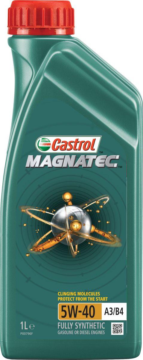 """Масло моторное Castrol """"Magnatec"""", синтетическое, класс вязкости 5W-40, A3/B4, 1 л"""