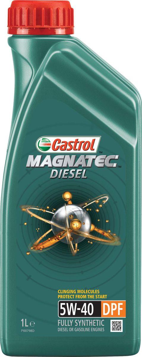 """Масло моторное Castrol """"Magnatec Diesel"""", синтетическое, класс вязкости 5W-40, DPF, 1 л"""