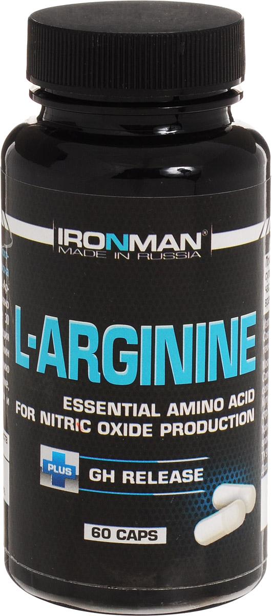 Ironman L-Аргинин, 60 капсул