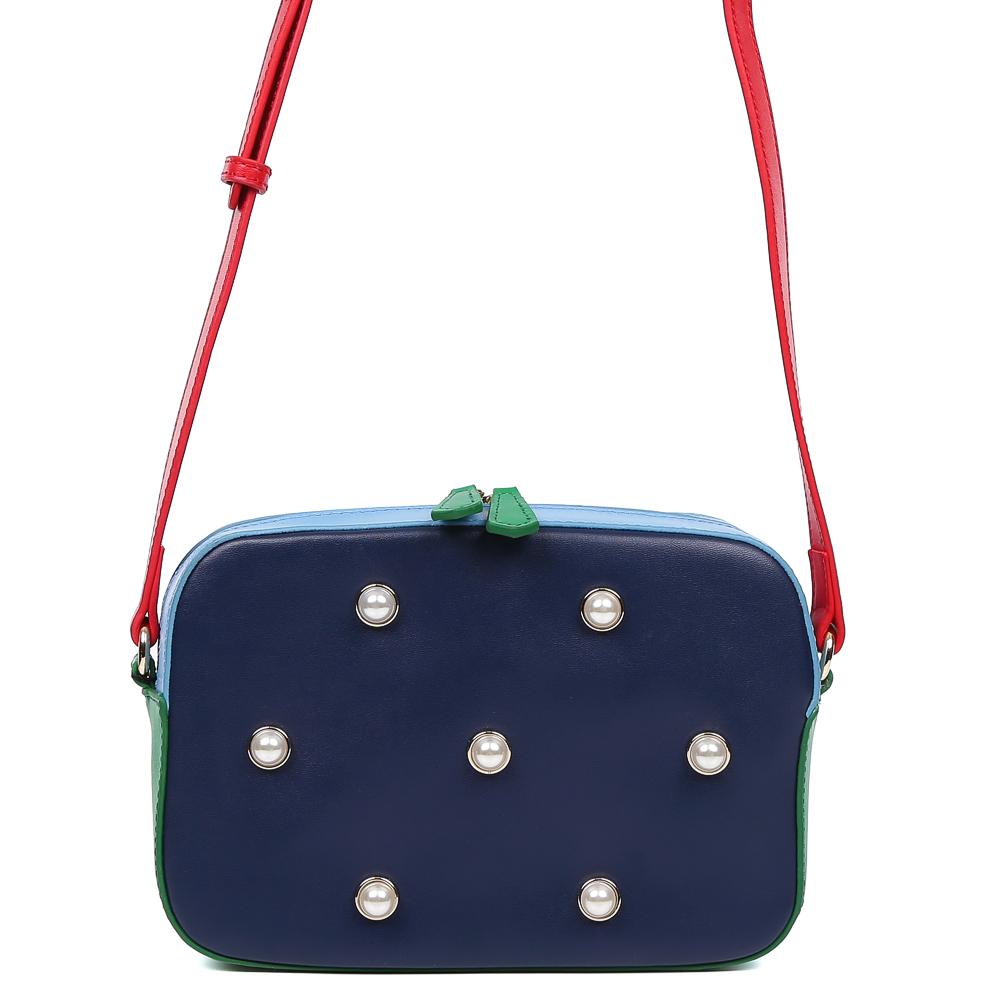 купить Сумка женская Galaday, цвет: синий, красный, зеленый. GD7141F по цене 6592 рублей
