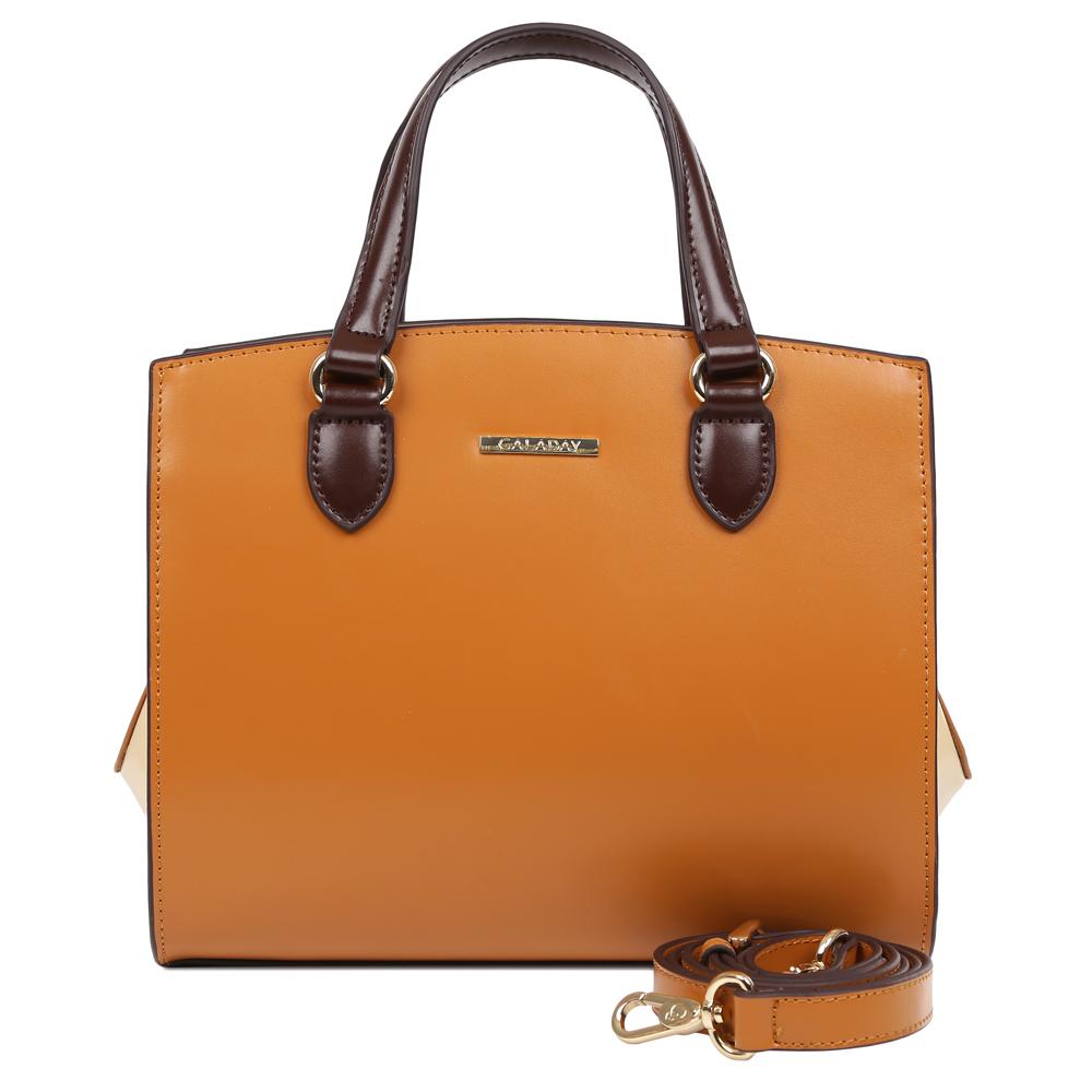 купить Сумка женская Galaday, цвет: коричневый. GD7378Q по цене 8680 рублей