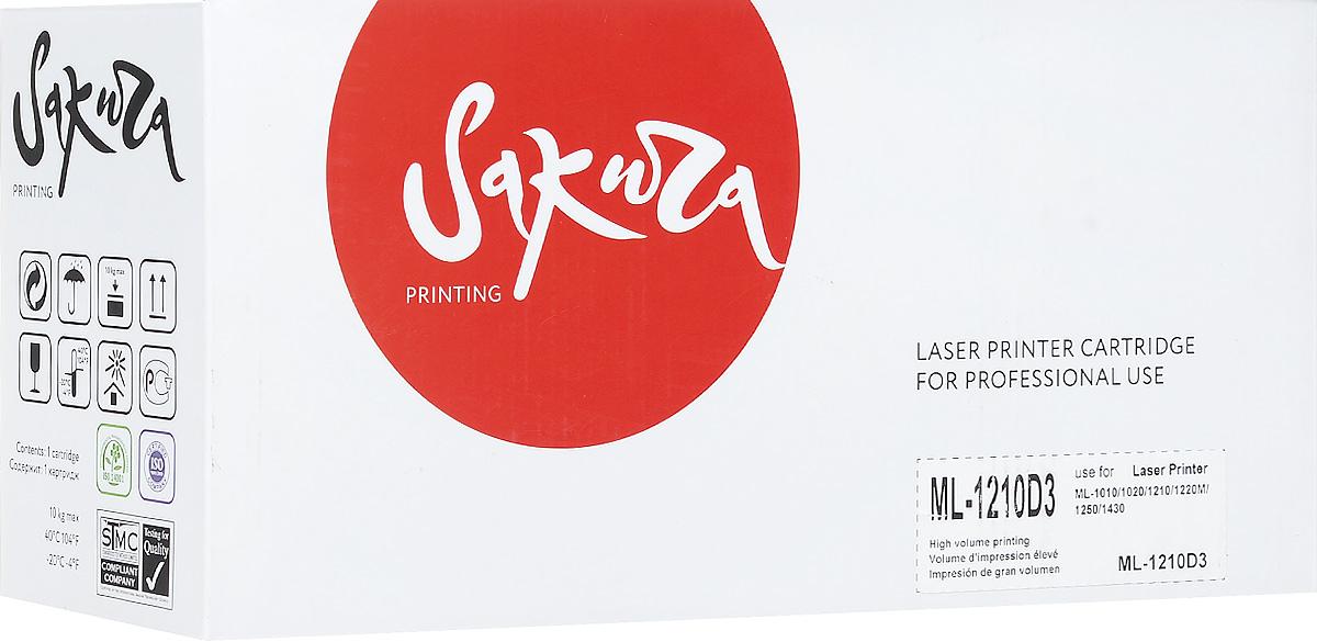 Sakura ML1210U, Black тонер-картридж для Samsung ML-1010/1020/1210/1220M/1250/1430