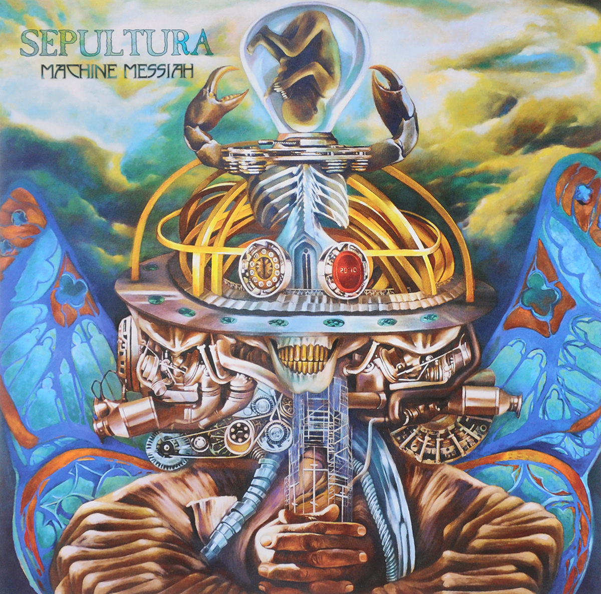 лучшая цена Sepultura Sepultura. Machine Messiah (2 LP)