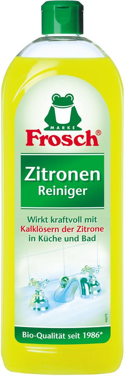 Средство чистящее Frosch, универсальное, с ароматом лимона, 750 мл