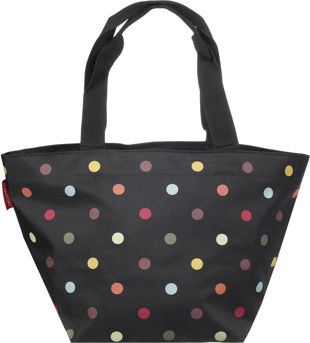 Сумка женская Reisenthel, цвет: черный, разноцветный. ZS7009 сумка женская reisenthel цвет бежевый черный ms7027