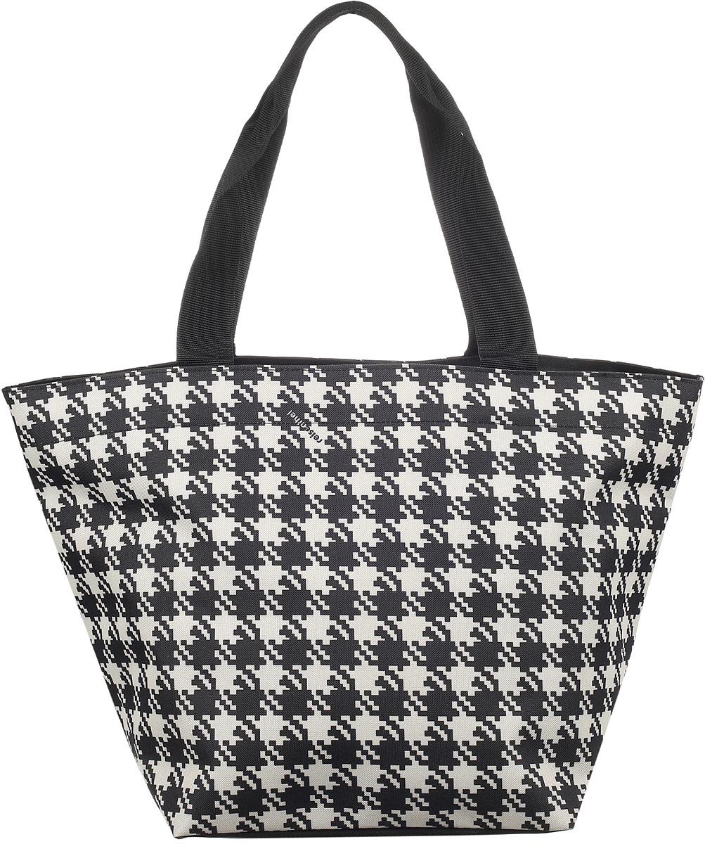 Сумка женская Reisenthel, цвет: черный, бежевый. ZS7028 сумка женская reisenthel цвет бежевый черный ms7027