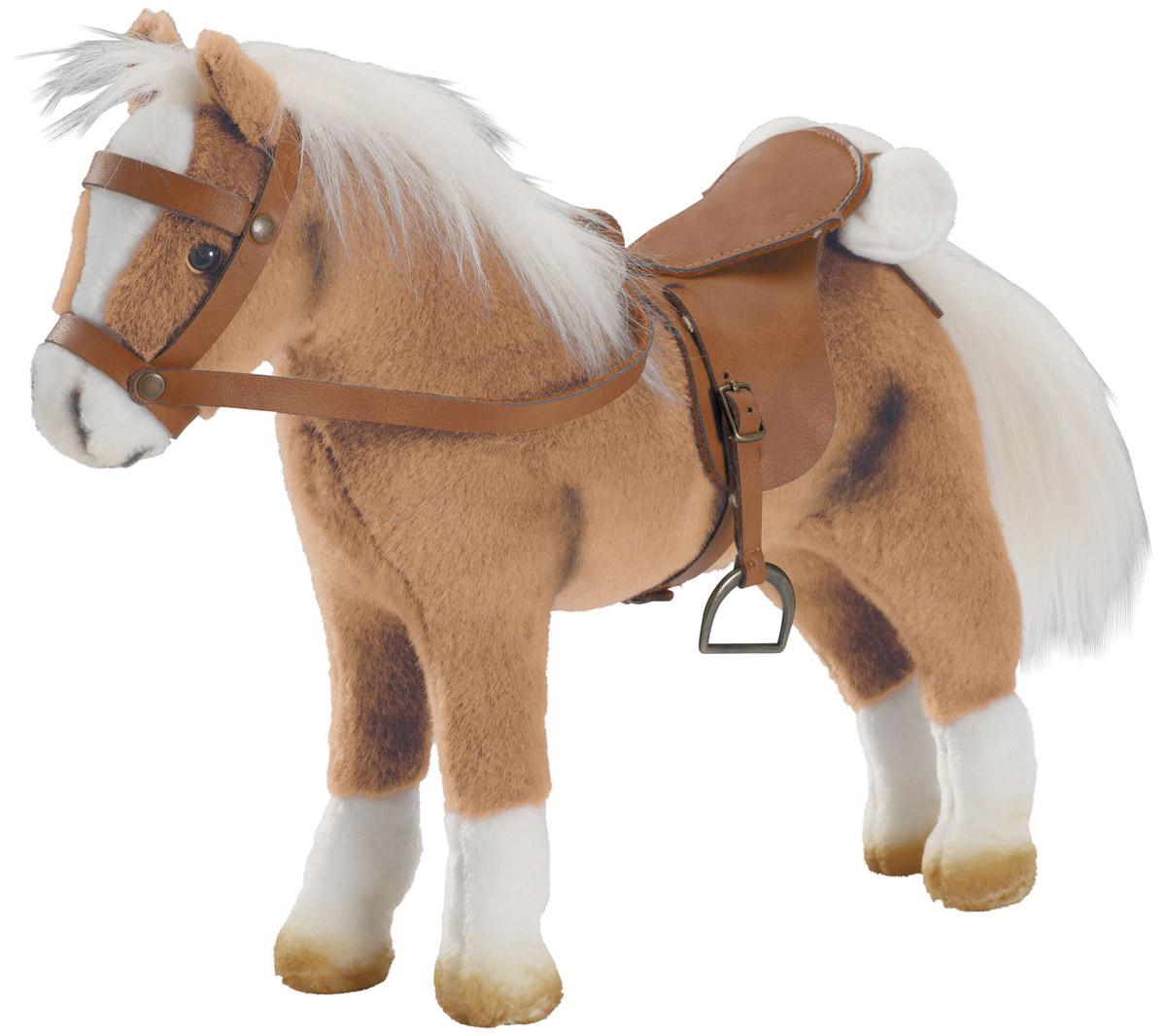 Фото - Gotz Транспорт для кукол Лошадь Хафлингер ролевые игры коняша лошадка на палочке фея
