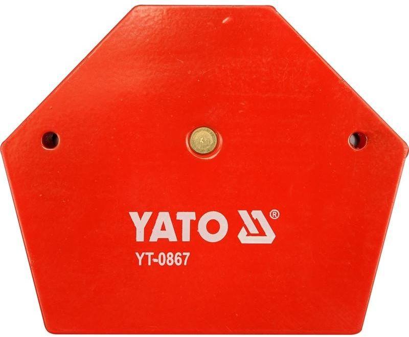 """Струбцина магнитная """"Yato"""", для сварки, 111 х 136 х 24 мм"""