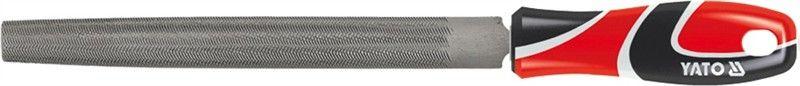 Напильник по металлу Yato, плоский, длина 20 см напильник по металлу плоский 200 мм