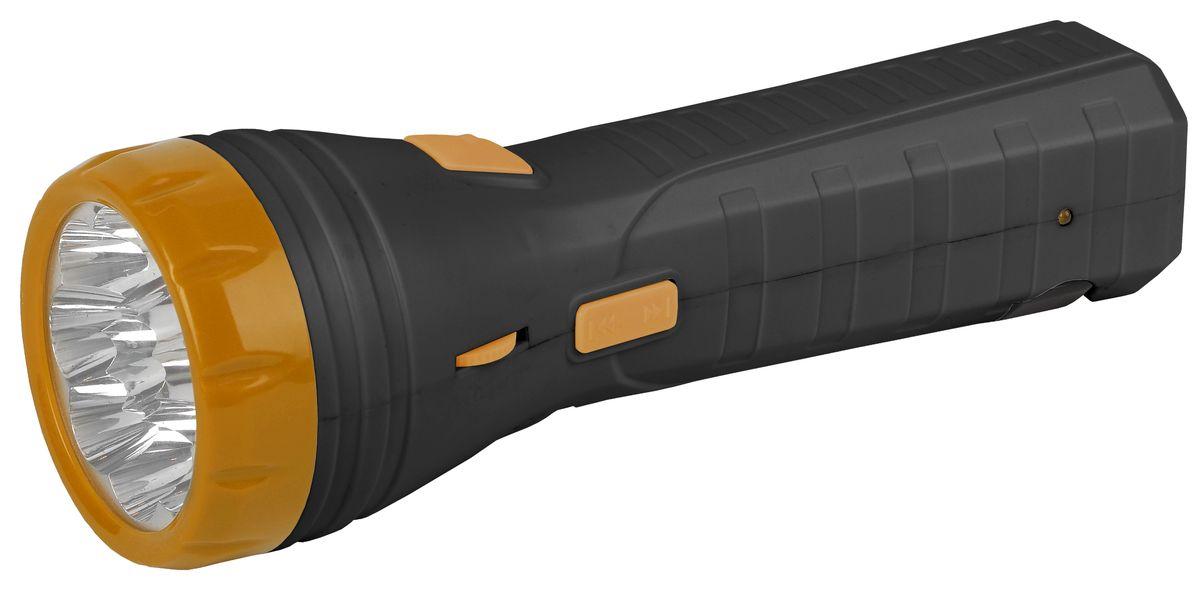 Фонарь ручной Трофи, 9 x LED, аккумулятор 4V 1Ah, с FM-радио