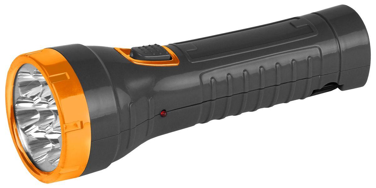 Фонарь ручной Трофи, 7 x LED, аккумулятор 4V 1Ah удилище спиннинговое lucky john basara штекерное 8 28 г 2 28 м