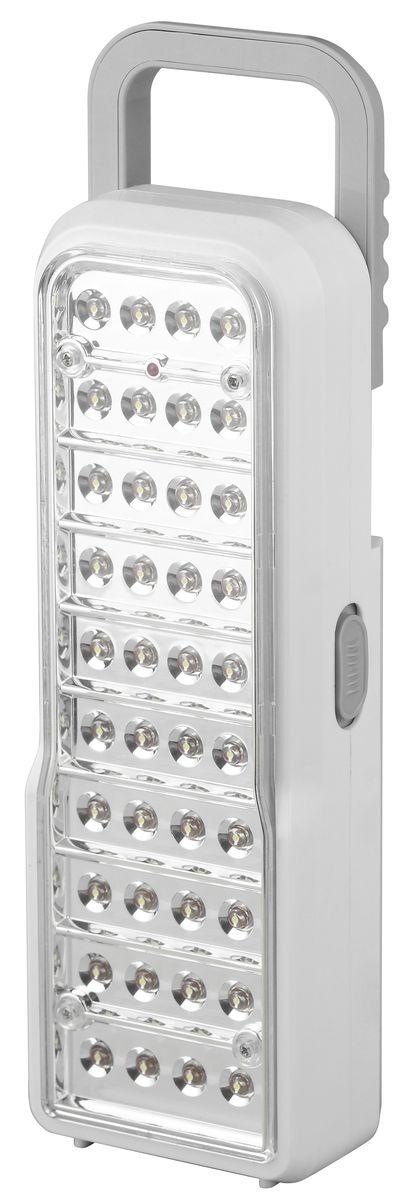 Фонарь ручной Трофи, 40 x LED, аккумулятор 4V 2Ah, ЗУ 220V