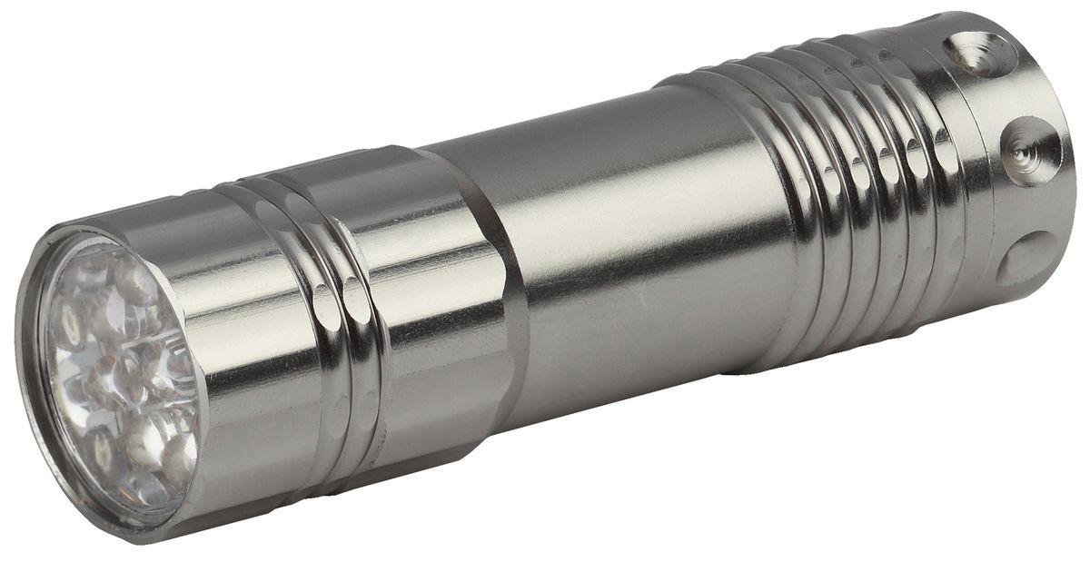 Фонарь ручной Трофи, 9 x LED 9 led 1 mode white flashlight silver 3 x aaa