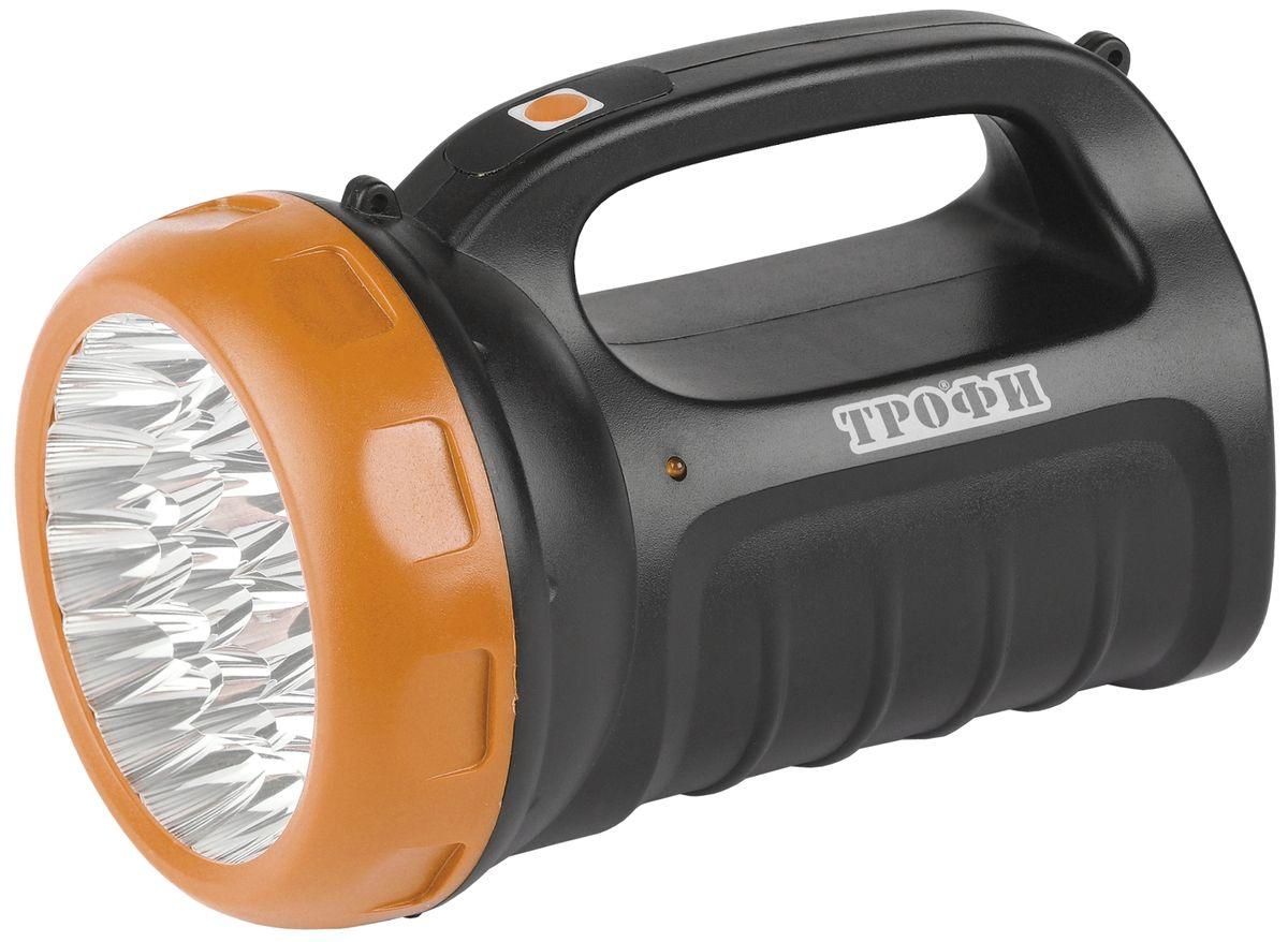Фонарь ручной Трофи, 23 x LED, аккумулятор 4V 2,4Ah, ЗУ 220V