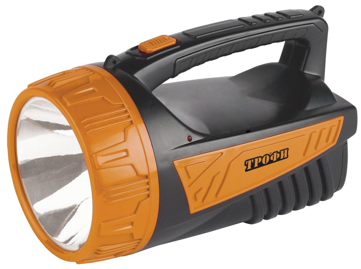 Фонарь ручной Трофи, 3W LED, аккумулятор 4V2Ah, ЗУ 220V