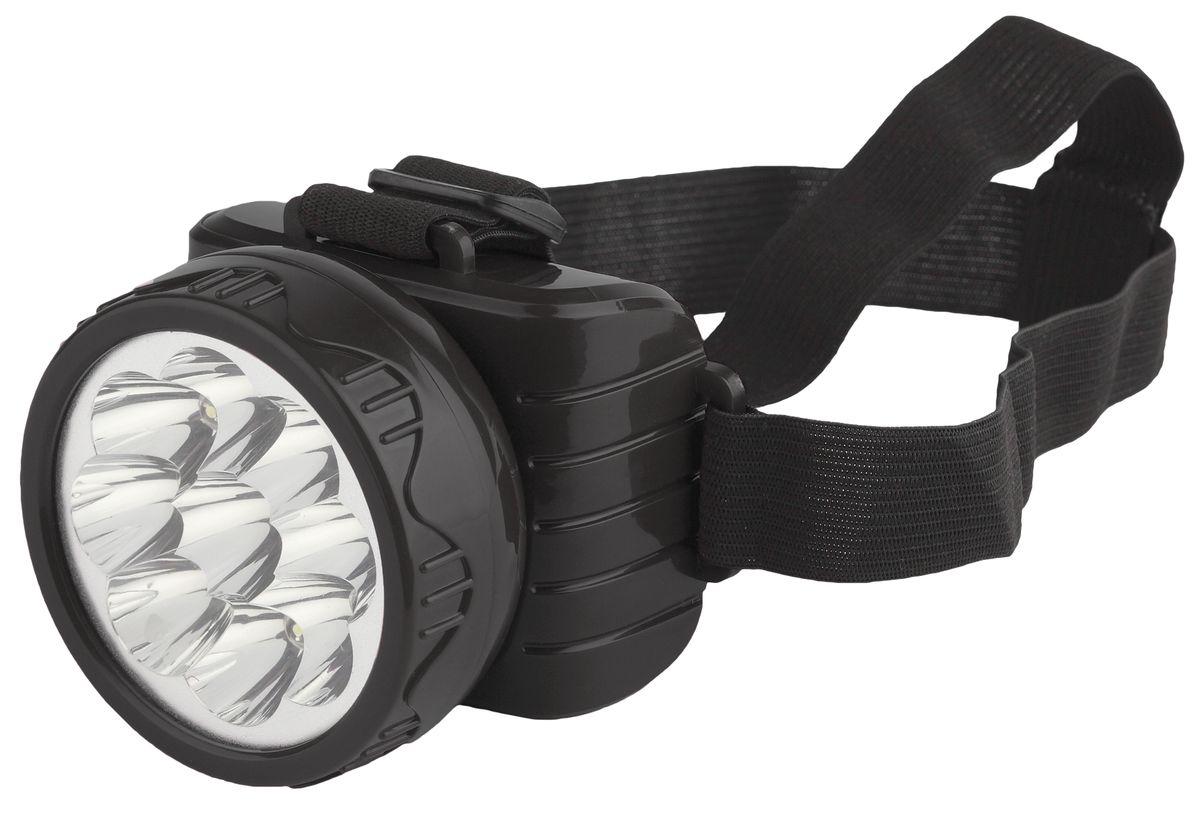 Фонарь налобный Трофи, 9 x LED