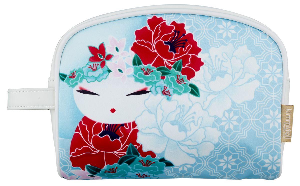 Косметичка женская Kimmidoll, цвет: светло-голубой. KF1101 косметичка женская kimmidoll цвет розовый kf1193