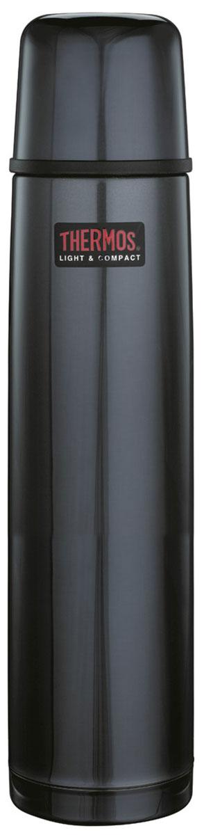 Фото - Термос Thermos, цвет: темно-синий, 1 л. 1000BC vientiane wanxiang r10 400ml вакуумный автомобиль типа изоляции чашка из нержавеющей стали бизнес машина чашка мужской дамы портативный