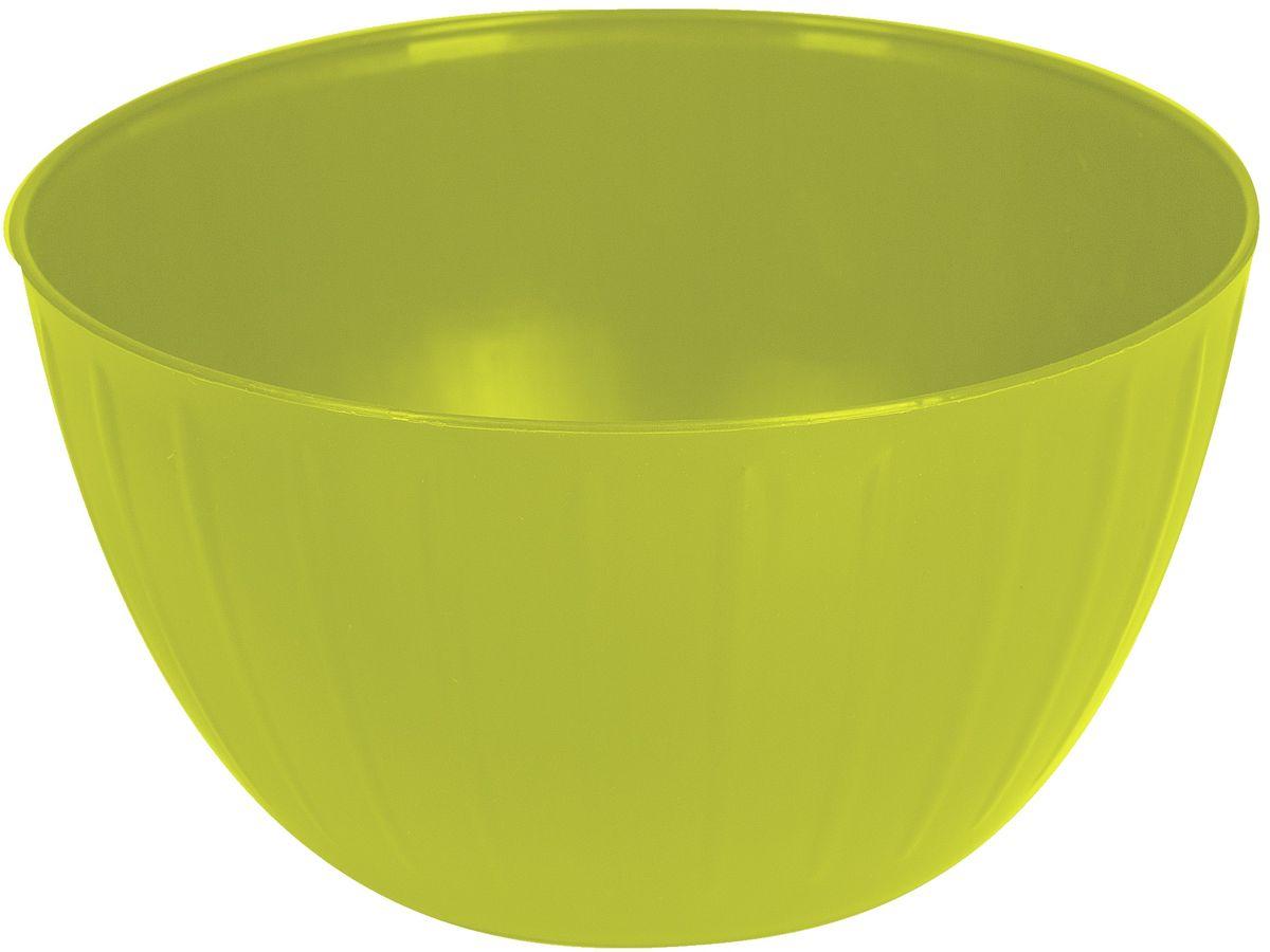 Салатник Giaretti Fiesta, цвет: оливковый, 1,7 л салатник berossi domino twist цвет снежно белый 0 7 л
