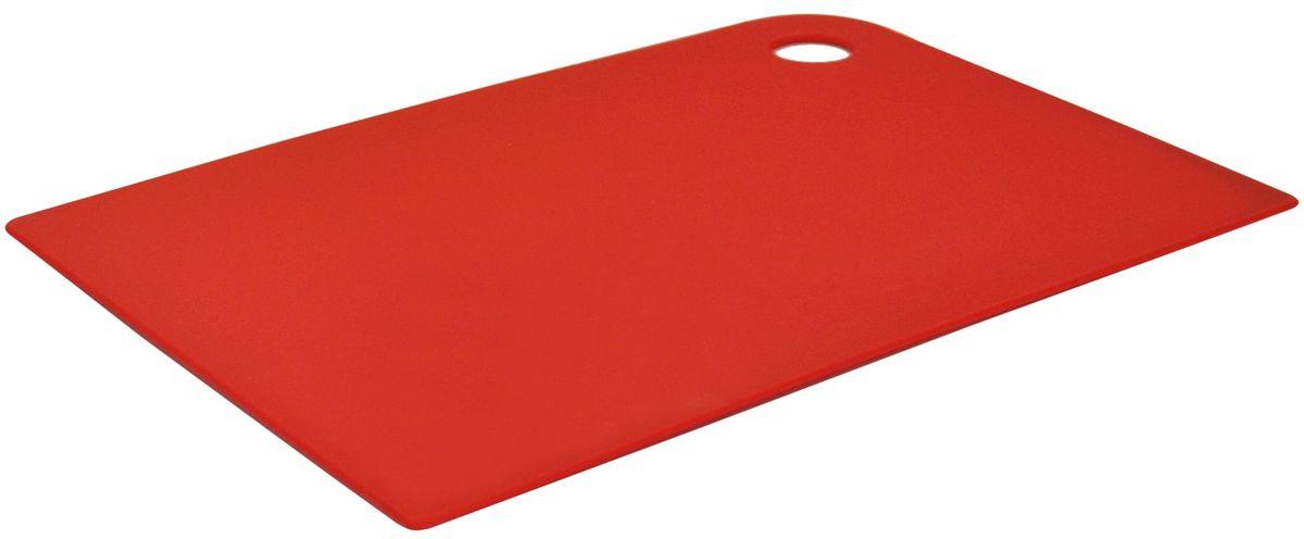 Доска разделочная Giaretti Delicato, гибкая, цвет: красный, 25 х 17 смGR1880ЧЕРИМаленькие и большие, под хлеб или сыр, овощи или мясо. Разделочных досок много не бывает. Giaretti предлагает новинку – гибкие доски. Преимущества: -не скользит по поверхности стола - вы можете резать продукты и не отвлекаться на мелочи; -удобно использовать - на гибкой доске вы сможете порезать продукты, согнув доску переложить их в блюдо и не рассыпать содержимое; -легкие доски займут мало места на вашей кухне; -легко моются в посудомоечной машине; -оптимальный размер доски позволят вам порезать небольшой кусок сыра или нашинковать много овощей.