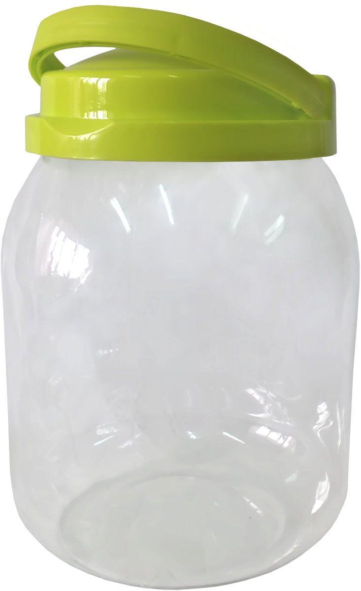 Емкость для хранения Plastic Centre Сфера, цвет: светло-зеленый, прозрачный, 3 л миска plastic centre фазенда с крышкой цвет светло зеленый 6 л
