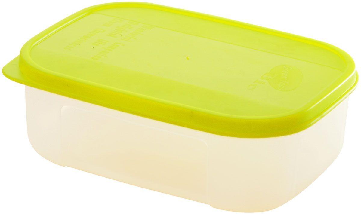"""Емкость для продуктов Plastic Centre """"Bio"""", цвет: светло-зеленый, прозрачный, 1 л"""