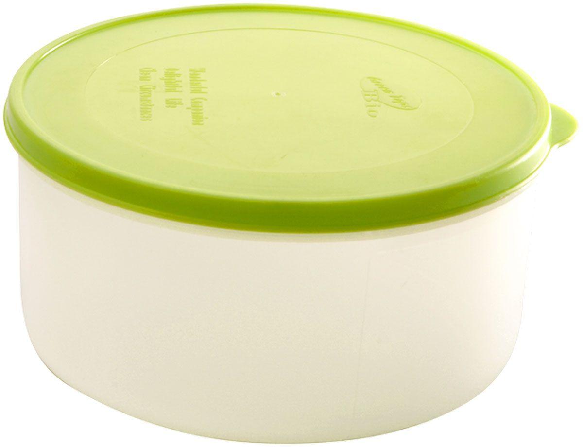 """Емкость для продуктов Plastic Centre """"Bio"""", цвет: светло-зеленый, прозрачный, 150 мл"""