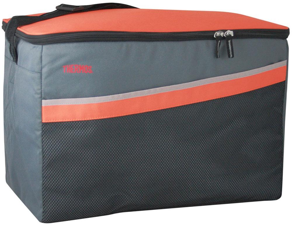 Термосумка Thermos Classic 48 Can Cooler, цвет: оранжевый, серый, 33 л