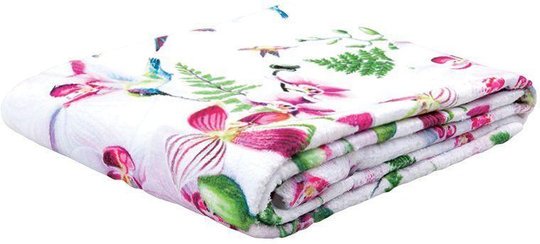 Полотенце банное Mona Liza Orchid, цвет: белый, 70 х 140 см
